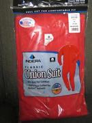 Red Union Suit
