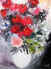 Oil Painting Knife Roses