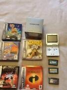 Gameboy Advance SP Boxed