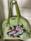 Ed Hardy Embroidered Tote Bags & Handbags for Women