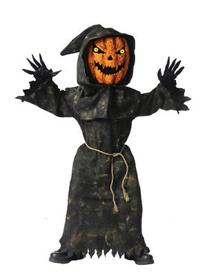 Child King Halloween Costume (Bobble Head Pumpkin King Child Halloween)