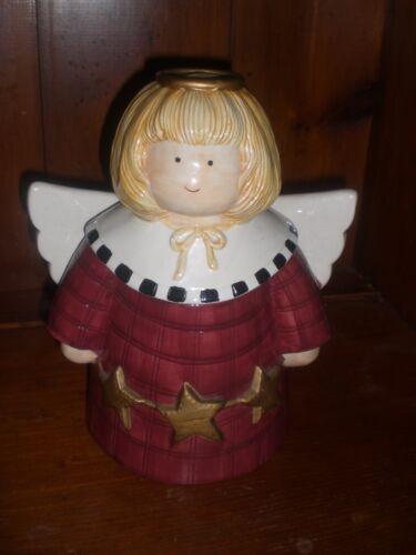 """Angel Cookie Jar Debbie Mumm """"Gathering of Angel """""""