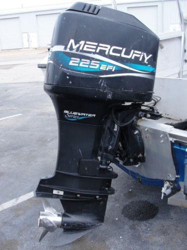 Mercury outboard motor 225 ebay for Mercury marine motors price