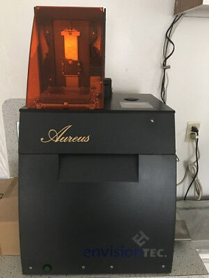 Envisiontec Perfactory Aureus 3d Printer Jewelry Casting Prototyping Modelmaking