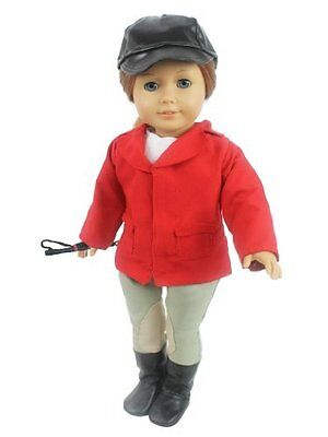 Best Horse Riding Doll Outfit Set includes Riding Hat Shirt Jacket