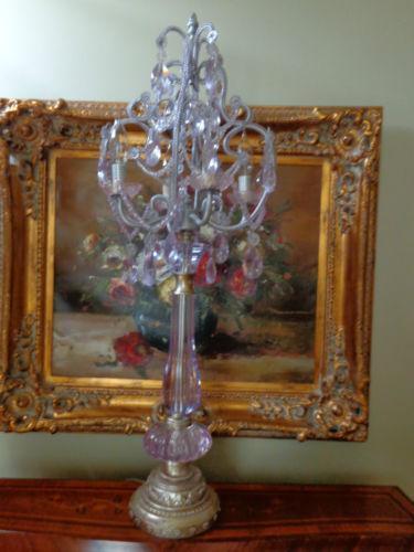 Vintage Candelabra Lamp Ebay