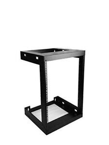 Wall mount open frame For server, network, IT, sound, video sys