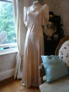 Vintage Satin Wedding Dress