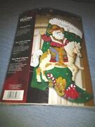 Christmas Stocking Kit Embroidery