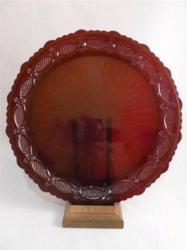 Avon Cranberry Glass Ebay