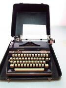 Manual Typewriter Working