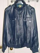 Mens Members Only Leather Jacket