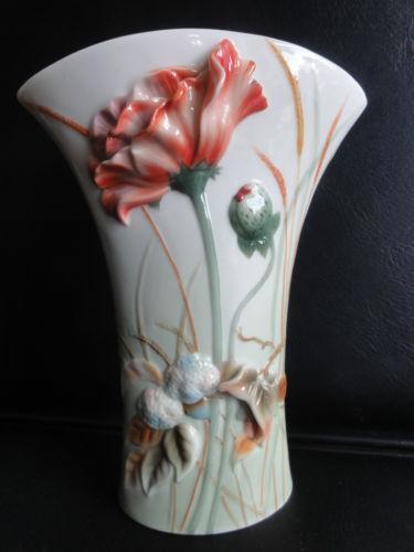 Franz Porcelain Vase Ebay