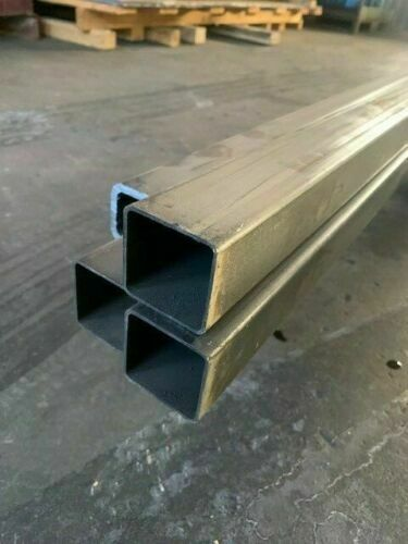 "Steel Square Tube 1.5"" x 1.5"" x 1/8"" Wall (0.125"") - CHOOSE LENGTH!!!"