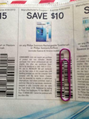 Sonicare discount coupons