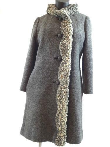 Lambs Wool Coat Ebay