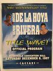 Oscar De La Hoya Boxing Fan Programs