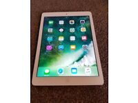 ipad air 1 wifi + unlocked white/silver 16gb