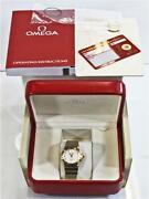 Mens Omega Watch Two Tone