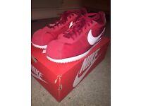Nike Cortez Red Bylon UK 10