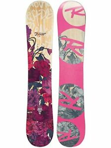 Mint Condition Gorgeous Rosi Snowboard with Burton Bag (Womens)