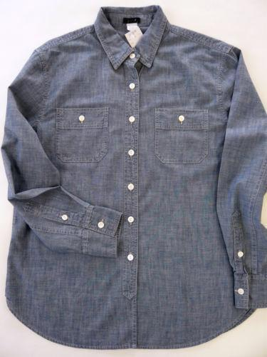 J Crew Mens Chambray Shirts Ebay