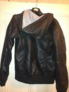 Boys Black Leather Jacket