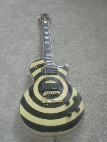 zakk wylde guitar ebay. Black Bedroom Furniture Sets. Home Design Ideas