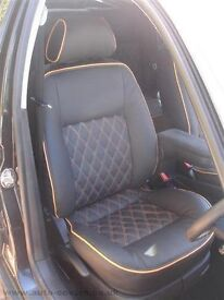 MINICAB/PRIVATE CAR LEATHER SEAT COVERS SEAT ALHAMBRA VAUXHALL ZAFIRA PEUGEOT 5008 TOYOTA VERSO