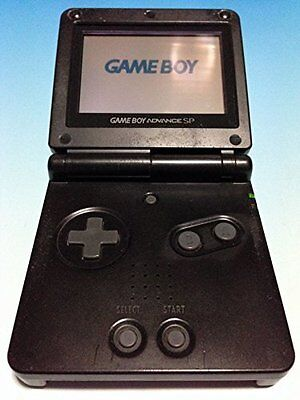 USED NINTENDO GAME BOY Advance SP Black Japan RARE