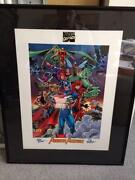 Stan Lee Signed Lithograph