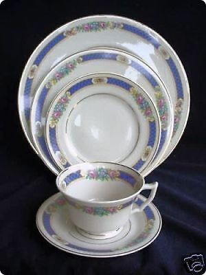 3 (5) PIECE PLACE SETTINGS HADDON SYRACUSE CHINA 15 PIECES 3 5 Piece Place Settings