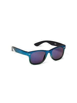 Baby Wayfarers (GAP Baby / Toddler Boys / Girls Wayfarer Retro Sunglasses - Metallic Blue)