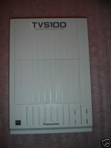 PANASONIC KX-TVS100 KXTVS100 2 PORT VOICE MAIL SYSTEM