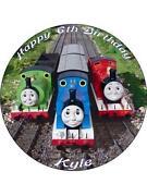 Thomas Birthday Cake Toppers