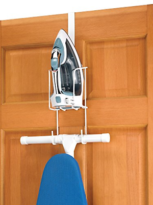 Whitmor Wire Over The Door Ironing Caddy - Iron and Ironing