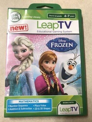 Brand New!!!! LeapFrog LeapTV: Disney Frozen: Arendelle's Wi