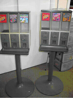 2 Two Vendstar 3000 Vending Candy Machines Free Labels