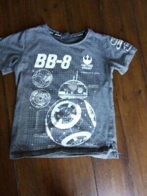 Star wars t-shirt grey BB-8 TU age 8-9