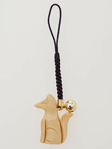 i Inari shrine Kyoto Japanese Amulet OMAMORI Good luck charm FOX WOOD