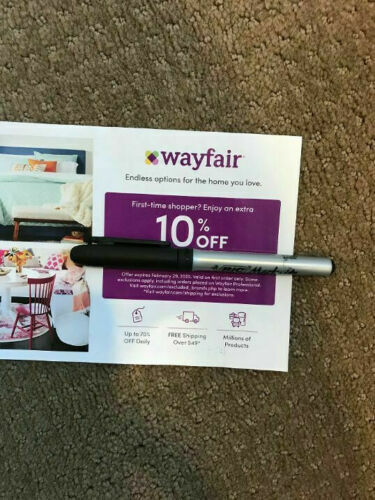 WAYFAIR 10 OFF COUPON EXPIRES 12/14/21 - Valid On First Order Only. HURRY  - $3.99