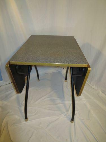 retro formica table ebay. Black Bedroom Furniture Sets. Home Design Ideas