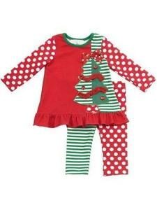 Girls Christmas Outfits | eBay
