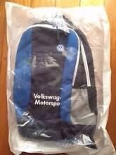 Volkswagen Geniune Rucksack Motorsport. 5GV087327530 Box Hill Whitehorse Area Preview