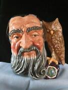 Royal Doulton Toby Mugs Merlin