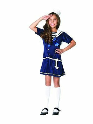 Shipmate Cutie Halloween Costume - Toddler Sailor Costume X-Small (2T-4T) New!