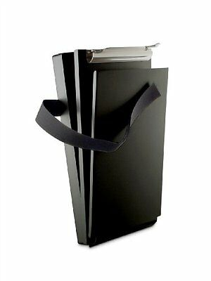 Saunders Black Recycled Aluminum Citation Holder Ii Form Holder Clipboard 12206