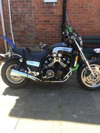 yamaha 1200 v max full power grey carbon stunning bike.