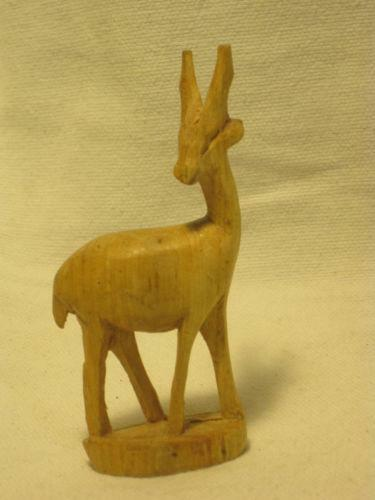 Hand carved wood animals ebay
