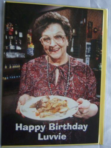 Coronation Street Birthday Card Ebay